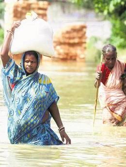 南亚多国暴雨频繁洪水肆虐